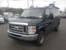 Used 2009 Ford E350 Cargo Van with Rear Shelving and Bulkhead Divider for sale in Burnaby, BC