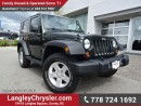 Used 2012 Jeep Wrangler Sport W/ 4X4, 6-SPEED MANUAL & U-CONNECT BLUETOOTH for sale in Surrey, BC