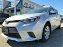 Used 2015 Toyota Corolla LE/CAMERA/BLUETOOTH/CERTIFIED/CLEAN CARPROOF for sale in Concord, ON