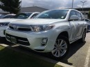Used 2012 Toyota Highlander HYBRID Limited,local,one owner for sale in Surrey, BC