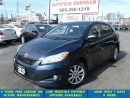 Used 2010 Toyota Matrix Auto Touring Alloys/All Power Options for sale in Mississauga, ON