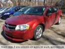 Used 2008 Dodge Avenger SXT | CERTIFIED | ALLOYS for sale in Kitchener, ON