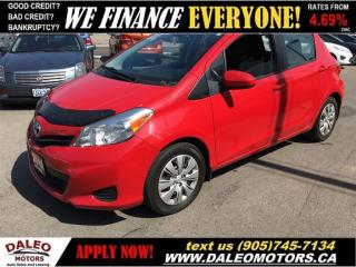 Used 2012 Toyota Yaris LE 1 OWNER 44 KM ECONOMICAL 1.5L for sale in Hamilton, ON