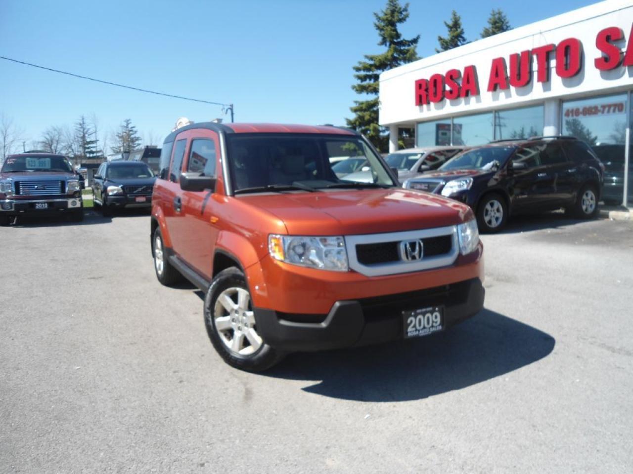 Photo of Orange 2009 Honda Element