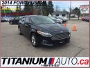 Used 2014 Ford Fusion GPS+Camera+Leather+EcoBoost+Ford MyTouch+New Tires for sale in London, ON