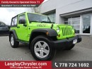Used 2013 Jeep Wrangler Sport ACCIDENT FREE w/ 4X4, SOFT TOP & TOW PACKAGE for sale in Surrey, BC