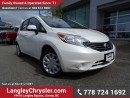Used 2014 Nissan Versa Note 1.6 S W/ POWER WINDOWS/LOCKS & REAR-VIEW CAMERA for sale in Surrey, BC