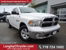 Used 2014 Dodge Ram 1500 SLT ACCIDENT FREE w/ 4X4 & U-CONNECT BLUETOOTH for sale in Surrey, BC