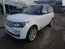 Used 2016 Land Rover Range Rover SuperCharged for sale in Calgary, AB