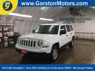 Used 2011 Jeep Patriot SPORT*CRUISE CONTROL*TRACTION CONTROL*CLIMATE CONTROL*AM/FM/CD/AUX* for sale in Cambridge, ON