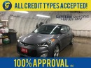 Used 2015 Hyundai Veloster TECH*NAVIGATION*POWER SUNROOF*BACK UP CAMERA*PHONE CONNECT*PUSH BUTTON TO START*HEATED FRONT SEATS*HEATED STEERING WHEEL* for sale in Cambridge, ON