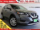Used 2017 Nissan Rogue SV| AWD| BACK UP CAMERA| HEATED SEATS| for sale in Burlington, ON