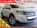 Used 2014 Ford Edge SEL| AWD| BACK UP SENSORS| POWER SEAT| for sale in Burlington, ON