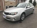 Used 2008 Subaru Impreza 2.5i! LOW KM! MUST SEE! for sale in Caledon, ON