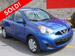 Used 2016 Nissan Micra SV for sale in Cornwall, ON