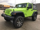 Used 2013 Jeep Wrangler Sport LIFT KIT AND TIRE UPGRADE for sale in Surrey, BC