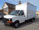Used 2010 Chevrolet Express 4500 Cube Van 14Ft Multi Van Aluminium Box for sale in Etobicoke, ON