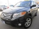 Used 2012 Hyundai Santa Fe Premium-Sunroof-Leather-MINT for sale in Mississauga, ON