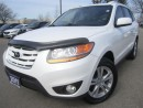 Used 2011 Hyundai Santa Fe Premium-NEW tires-Super Clean-Certified for sale in Mississauga, ON