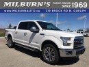 Used 2016 Ford F-150 Lariat / 4X4 for sale in Guelph, ON