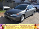 Used 2002 Toyota Camry LE for sale in Stoney Creek, ON