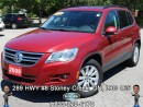 Used 2009 Volkswagen Tiguan Trendline...LOW PAYMENTS WITH LOTS OF LEG ROOM!!! for sale in Stoney Creek, ON