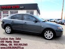Used 2008 Mazda MAZDA3 GX Sunroof Certified 2 Years Warranty for sale in Milton, ON