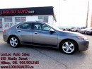 Used 2009 Acura TSX Premium Manual Sunroof Bluetooth Certfied 2YR for sale in Milton, ON