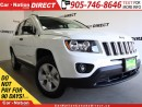 Used 2017 Jeep Compass Sport| WE WANT YOUR TRADE| OPEN SUNDAYS| for sale in Burlington, ON
