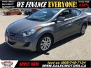 Used 2013 Hyundai Elantra GL 58 KM HEATED SEATS 1.8L for sale in Hamilton, ON