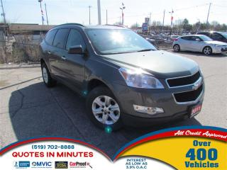 Used 2011 Chevrolet Traverse 1LS | ALLOYS | CLEAN | MUST SEE for sale in London, ON
