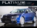 Used 2013 Mitsubishi Lancer Evolution GSR, AWD, for sale in North York, ON