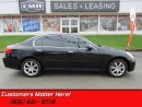 Used 2006 Infiniti G35 MEMORY/HEATED LEATHER! BOSE! for sale in St Catharines, ON