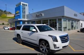 New 2017 Cadillac Escalade ESV Base for sale in Kamloops, BC