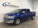 Used 2017 Dodge Ram 1500 LARAMIE- HEMI! LEATHER! NAV! REVERSE CAM! ALPINE! for sale in Belleville, ON