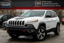 Used 2016 Jeep Cherokee Trailhawk|4x4|Navi|Pano Sunroof|Backup Cam|Bluetooth|R-Start|17