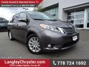 Used 2015 Toyota Sienna XLE 7 Passenger W/ AWD, DVD ENTERTAINMENT & POWER SLIDING DOORS/LIFT-GATE for sale in Surrey, BC