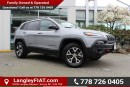 Used 2016 Jeep Cherokee Trailhawk NO ACCIDENTS, B.C OWNED for sale in Surrey, BC