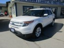 Used 2014 Ford Explorer LOADED LIMITED EDITION 7 PASSENGER 3.5L - V6.. 4WD.. BENCH & 3RD ROW.. LEATHER.. HEATED/AC SEATS.. NAVIGATION.. DUAL SUNROOF.. for sale in Bradford, ON