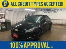 Used 2014 Chevrolet Cruze LT*RS TURBO*LEATHER*SUNROOF*REMOTE START*MY LINK PHONE CONNECT* for sale in Cambridge, ON