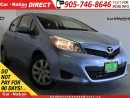 Used 2013 Toyota Yaris LE| WE WANT YOUR TRADE| OPEN SUNDAYS| for sale in Burlington, ON