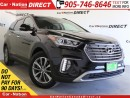 Used 2017 Hyundai Santa Fe XL Limited| AWD| LEATHER| PANO ROOF| BACK UP CAMERA| for sale in Burlington, ON