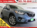 Used 2014 Mazda CX-5 GT| AWD| LEATHER| SUNROOF| NAVI| for sale in Burlington, ON