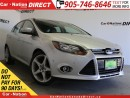 Used 2012 Ford Focus Titanium| LEATHER| SUNROOF| BACK UP CAMERA| for sale in Burlington, ON