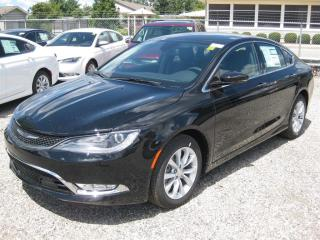 Used 2016 Chrysler 200 C - V6  Leather  Ventilated Seats  Back Up Cam for sale in London, ON
