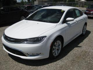 Used 2016 Chrysler 200 C - Memory Driver Seat  Touch Screen  Sat Radio for sale in London, ON