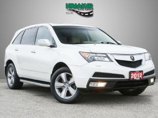 Used 2012 Acura MDX TECHNOLOGY PACKAGE AWD for sale in North York, ON