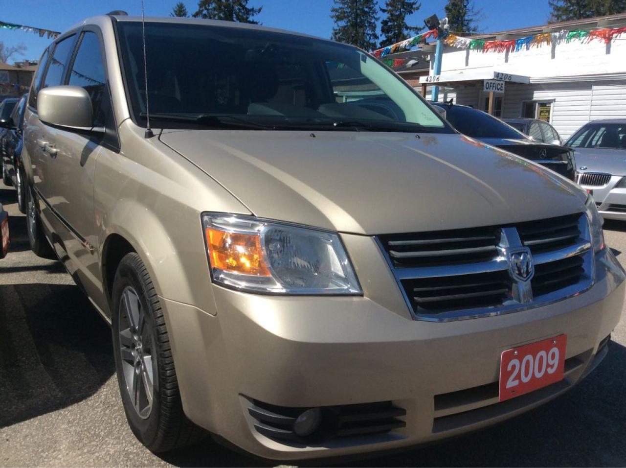 2009 Dodge Grand Caravan 4.0L Back-Up Cam Power S. Doors & Lift Gate MINT
