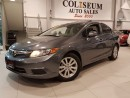 Used 2012 Honda Civic EX-AUTO-BLUETOOTH-SUNROOF-ONLY 82KM for sale in York, ON