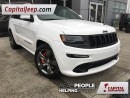 Used 2015 Jeep Grand Cherokee SRT|DVD|Leather|Nav|Sunroof for sale in Edmonton, AB